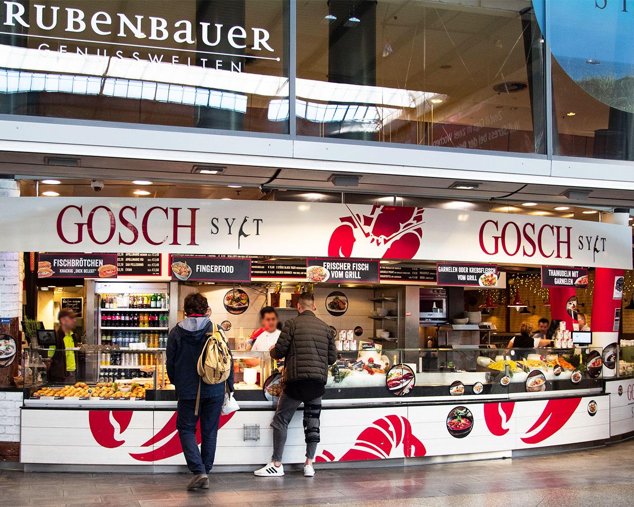 Gosch Sylt im Hauptbahnhof München