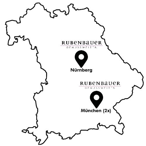 Rubenbauer Genusswelten Map
