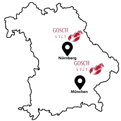 Gosch Sylt Map