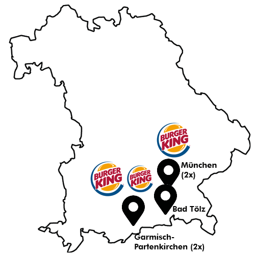 Burger King Map
